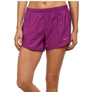 Nike Solid Purple Tempo Shorts XS